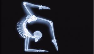 skelet yoga